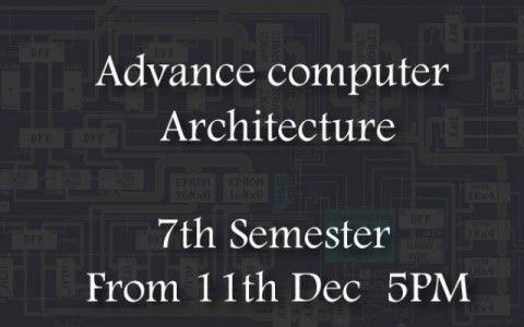 Computer Architecture Course